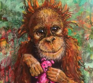 Vegan Artist You Need to Know: Dina Appel - Saving Animals One Painting at a Time!