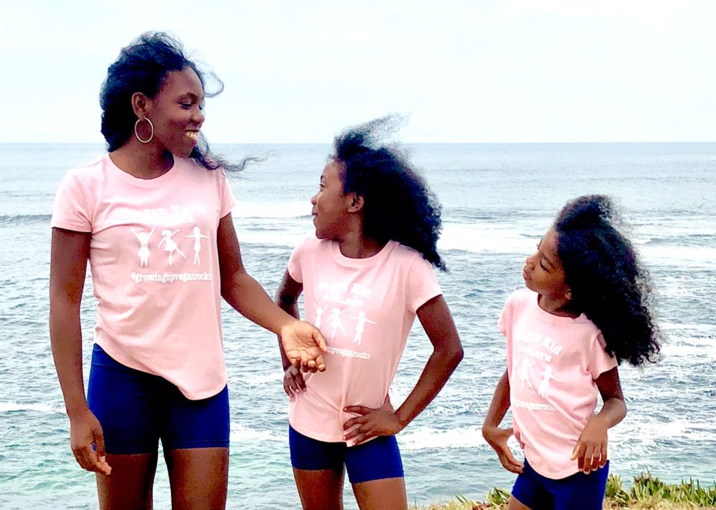 Vegan Kids:  Danaé, Danya,  Danielle - Growing Up Vegan Rocks!